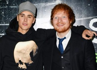 Ed Sheeran And Justin Bieber Smashing Records With New Song I Don't Care