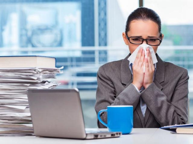 The Costs Of Going To Work When Sick