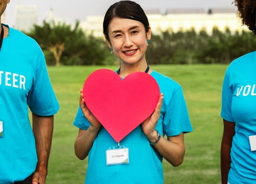 Various studies suggest that people who volunteer tend to feel relatively more satisfied with their lives.