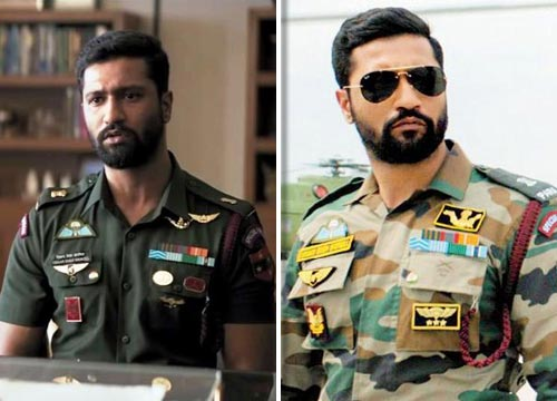 Vicky Kaushal as an army officer in Raazi and Uri