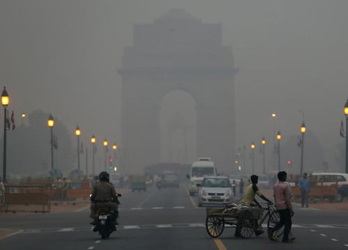 92 per cent of people worldwide do not breathe clean air.