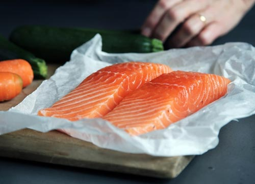 Fatty fishes like salmon are rich sources of Omega- 3
