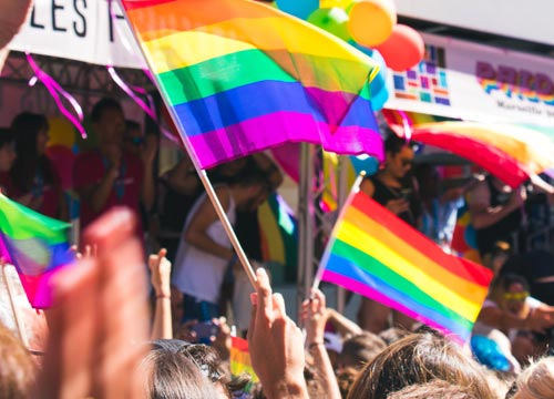 Parades are a well-known attribute of the Pride month, and there are many big and small events like community parties, open mics, Poetry nights, street festivals and so on.
