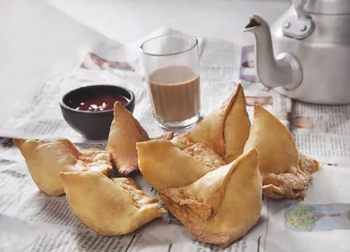 Also, you can HAVE CHAI with everything. Samosa, Paratha, Biscuits, and what not!!