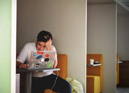 A Workaholic person can never really be happy for a prolonged period of time.