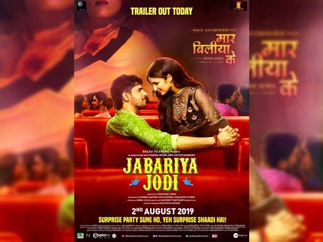 Jabariya Jodi Trailer : Parineeti Chopra And Siddharth Malhotra's Jodi Is Jabariya For Sure!