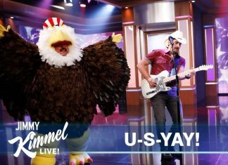 Brad Paisley And Jimmy Kimmel Welcome Immigrants To The US With Funny Song