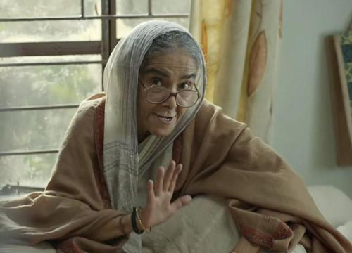 Surekha Sikri was simply adorable in the movie!