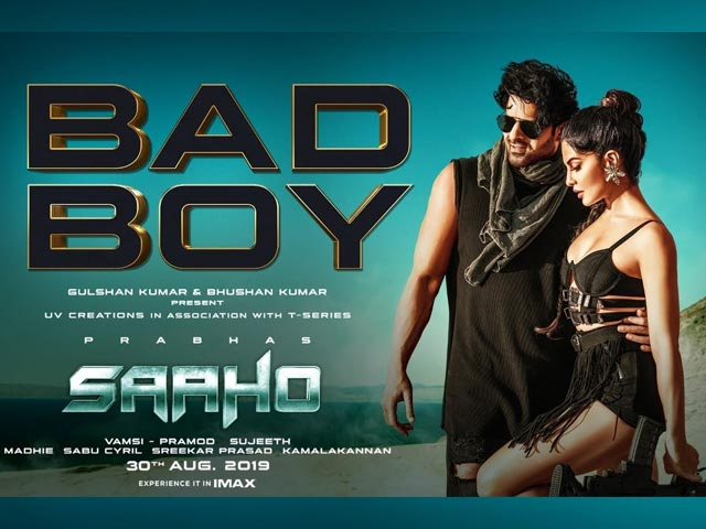 Watch Prabhas Be A 'Bad Boy' In Saaho's Latest Song
