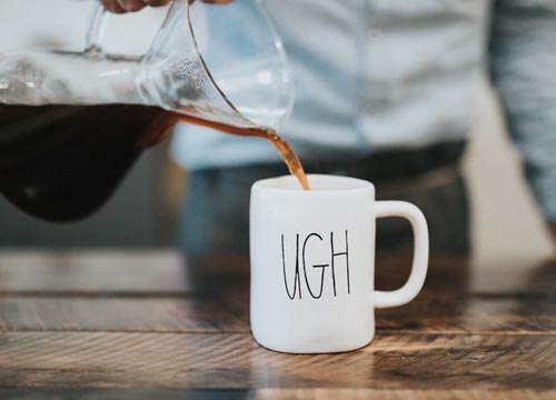 Did your best friend serve a cup of ugh today?