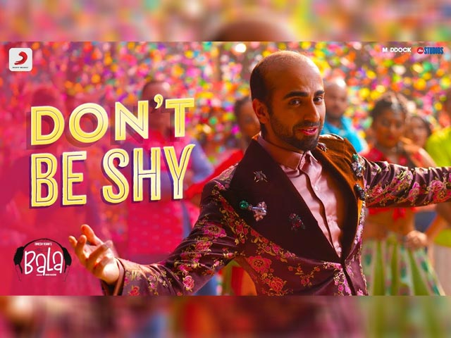 'Don't Be Shy' Is The First Song From Ayushmann Khurrana's Bala