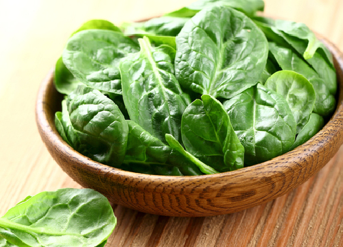 Spinach in salads or soups taste yummy and kids will not even find it out, easily.