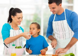 Healthy food boosts immune system of your child.