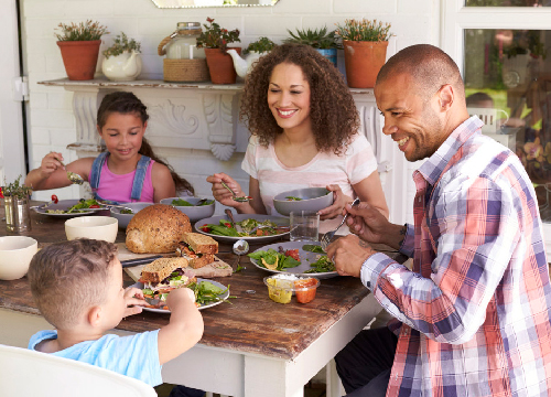 Parents know no bounds of loving their child; so bonding over a meal is always a good idea!