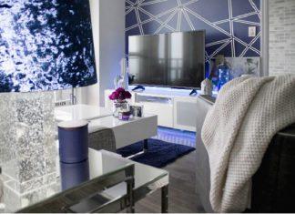 A stylish living room design.